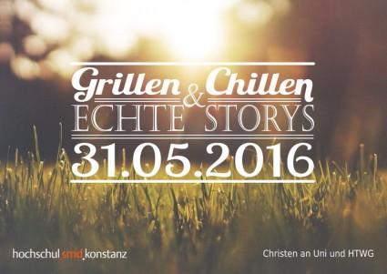 Grillen, Chillen und Echte Storys